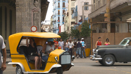 HD2009-4-3-6 Havana traffic Stock Video Footage