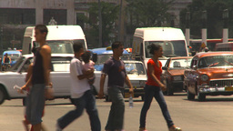 HD2009-4-3-8 Havana traffic Stock Video Footage