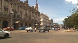 HD2009-4-3-10 Havana traffic Stock Video Footage