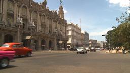 HD2009-4-3-10 Havana traffic Stock Video Footage