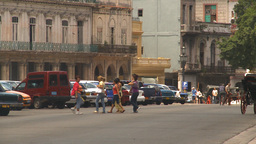 HD2009-4-3-12 Havana traffic Footage