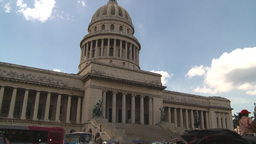 HD2009-4-3-16 Havana capitol Stock Video Footage
