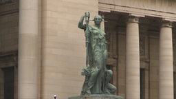 HD2009-4-3-20 Havana capitol statue Stock Video Footage