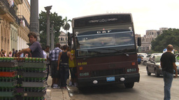 HD2009-4-3-22 Havana traffic Stock Video Footage