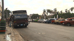 HD2009-4-3-24 Havana traffic Stock Video Footage