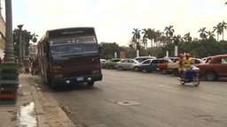 HD2009-4-3-24 Havana traffic Stock Video Footage