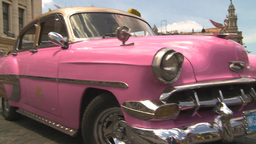 HD2009-4-3-26 Havana traffic Stock Video Footage