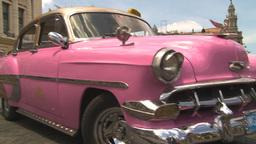 HD2009-4-3-26 Havana traffic Stock Video Footage