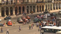 HD2009-4-3-32 Havana traffic Stock Video Footage
