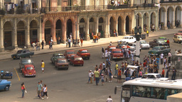 HD2009-4-3-32 Havana traffic Stock Video Footage