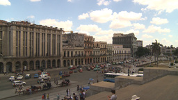 HD2009-4-3-34 Havana traffic Stock Video Footage