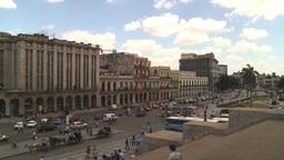 HD2009-4-3-34 Havana traffic Stock Video Footage