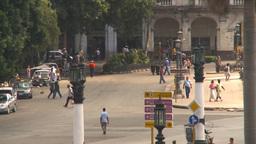 HD2009-4-3-36 Havana traffic Stock Video Footage