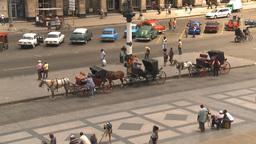 HD2009-4-3-38 Havana traffic Stock Video Footage