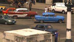 HD2009-4-3-40 Havana traffic Stock Video Footage
