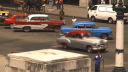 HD2009-4-3-40 Havana traffic Stock Video Footage