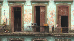 HD2009-4-3-42 Havana apts Stock Video Footage