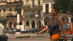 HD2009-4-3-46 Havana traffic Stock Video Footage