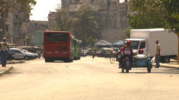 HD2009-4-3-52 Havana traffic Stock Video Footage