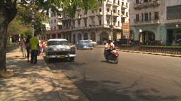 HD2009-4-3-54 Havana traffic Stock Video Footage