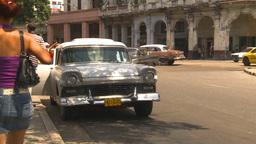 HD2009-4-3-56 Havana traffic Stock Video Footage