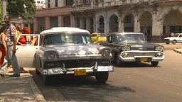 HD2009-4-3-56 Havana traffic Stock Video Footage
