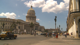 HD2009-4-3-60 Havana capitol Stock Video Footage