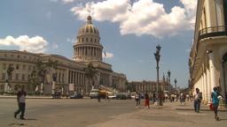 HD2009-4-3-60 Havana capitol Stock Video Footage
