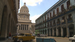 HD2009-4-3-62 Havana traffic capitol Footage