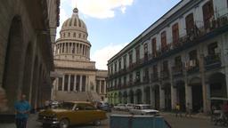 HD2009-4-3-62 Havana traffic capitol Stock Video Footage