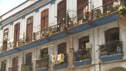 HD2009-4-3-64 Havana apts Stock Video Footage