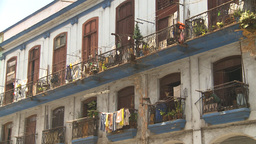 HD2009-4-3-64 Havana apts Stock Video Footage