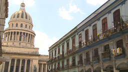HD2009-4-3-66 Havana capitol Stock Video Footage