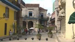 HD2009-4-4-11 Havana street view Stock Video Footage