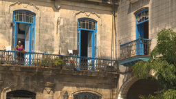 HD2009-4-4-23 Havana apts Stock Video Footage