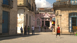HD2009-4-4-25 Havana street Stock Video Footage