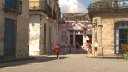 HD2009-4-4-25 Havana street Stock Video Footage