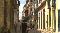 HD2009-4-4-31 Havana street Stock Video Footage
