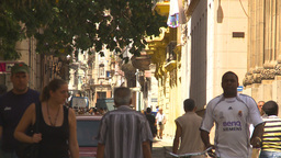 HD2009-4-4-33 Havana street Stock Video Footage