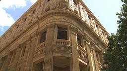 HD2009-4-4-37 Havana street scotia bannk Stock Video Footage