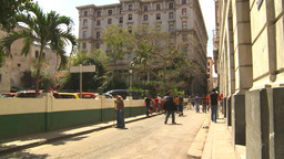 HD2009-4-4-39 Havana street Stock Video Footage