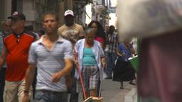 HD2009-4-4-41 Havana street Stock Video Footage