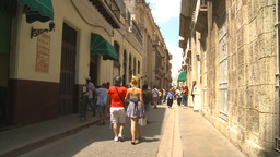 HD2009-4-4-43 Havana street Stock Video Footage