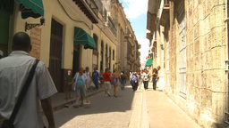 HD2009-4-4-43 Havana street Stock Video Footage