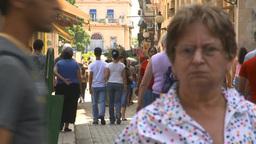 HD2009-4-4-45 Havana street Stock Video Footage