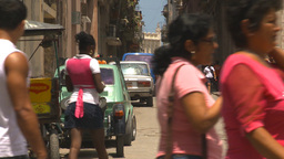 HD2009-4-4-53 Havana street Stock Video Footage