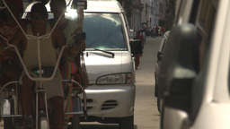 HD2009-4-4-55 Havana street Stock Video Footage
