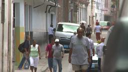 HD2009-4-4-57 Havana street Stock Video Footage