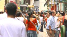 HD2009-4-4-59 Havana street Stock Video Footage