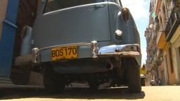 HD2009-4-4-65 Havana old car Stock Video Footage